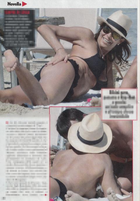 Cristina Parodi sexy sirenetta: fisico al top a 51 anni col marito a Formentera