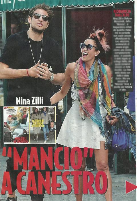 Nina Zilli ritrova il sorriso: weekend a Portofino col gigante del basket Stefano Mancinelli