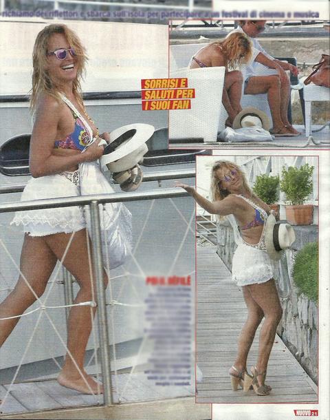 Barbara D'Urso, sirenetta in yacht ad Ischia prima del reality sui divorziati